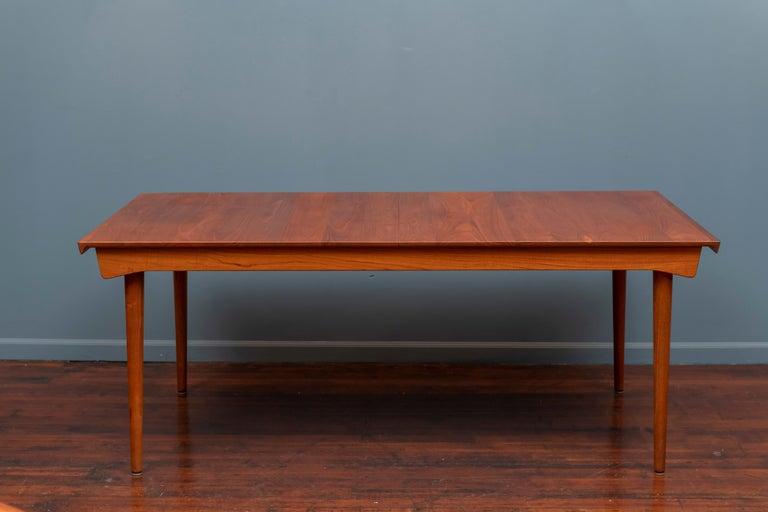 Danish Finn Juhl Dining Table for France & Son For Sale