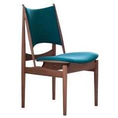 Finn Juhl Egypetian Chair in Wood and Fabric