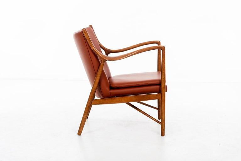 American Finn Juhl FJ45 Lounge Chair For Sale