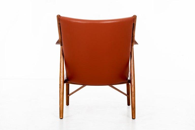 Mid-20th Century Finn Juhl FJ45 Lounge Chair For Sale