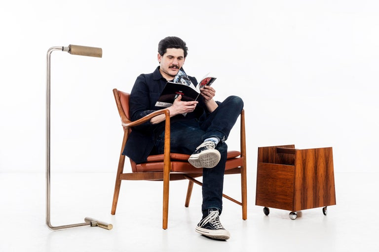 Finn Juhl FJ45 Lounge Chair For Sale 1
