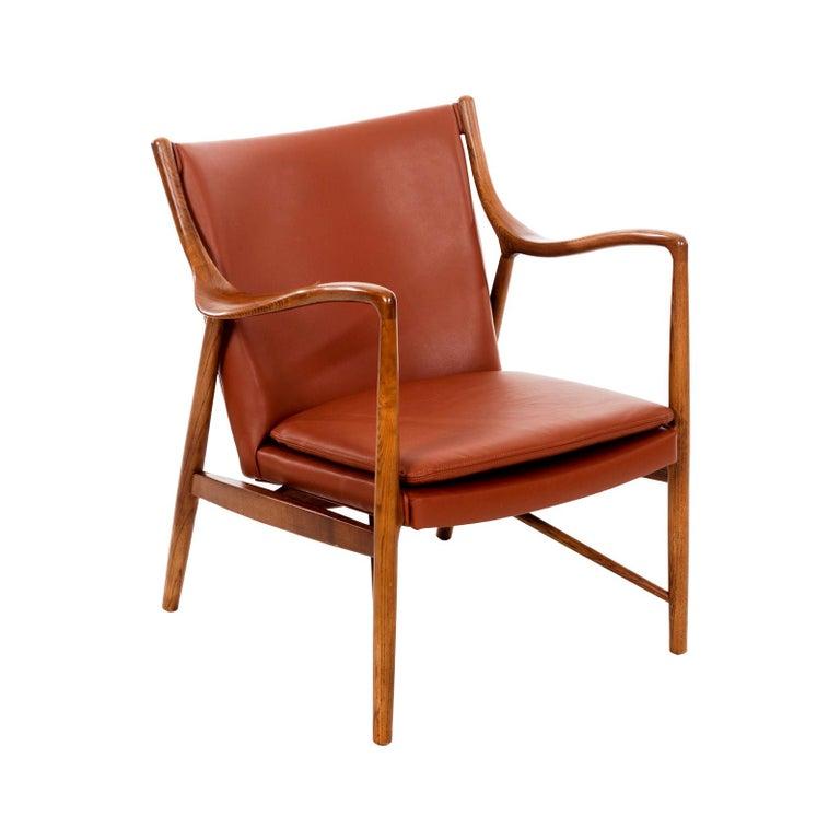 Finn Juhl FJ45 Lounge Chair For Sale