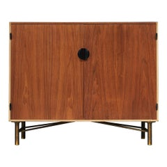 Finn Juhl Cabinet in Walnut and Maple, 1950s
