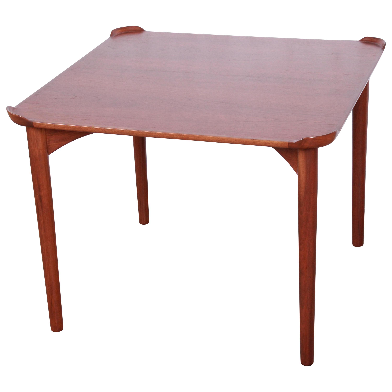Finn Juhl for Baker Furniture Teak Game Table