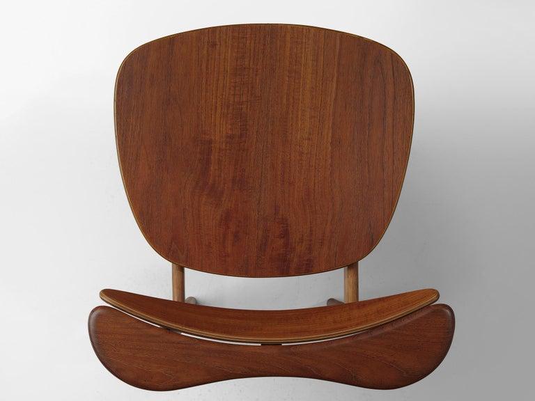 Finn Juhl for Bovirke Set of Four 'Reading Chairs' For Sale 3