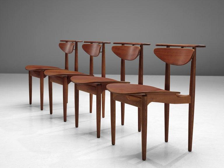 Danish Finn Juhl for Bovirke Set of Four 'Reading Chairs' For Sale