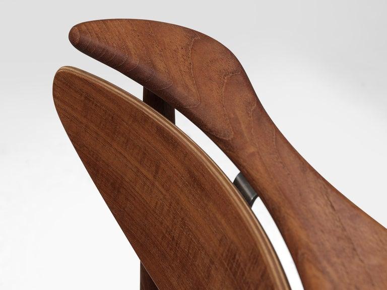 Finn Juhl for Bovirke Set of Four 'Reading Chairs' For Sale 1