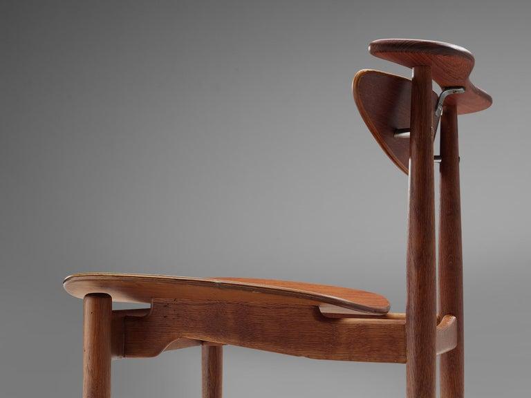 Finn Juhl for Bovirke Set of Four 'Reading Chairs' For Sale 2