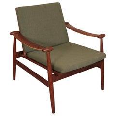 """Finn Juhl for France and Daverkosen Arm Chair """"Spadelstolen"""" FD 133"""