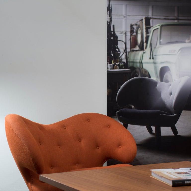 Finn Juhl Garnet Pelican Chair Kvadrat Remix For Sale 1