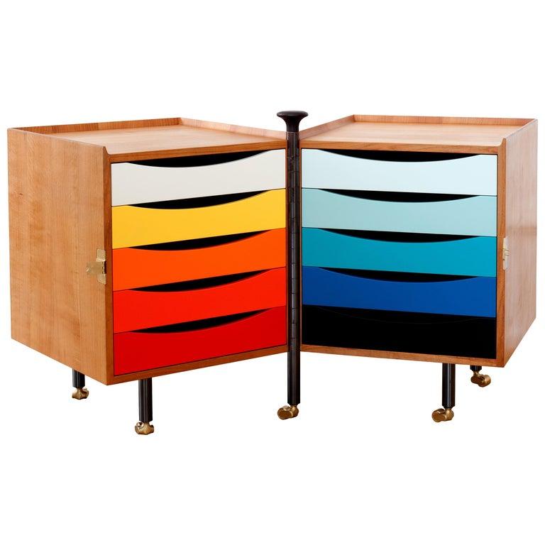 Glove cabinet, designed 1961, new reissue, offered by DADA