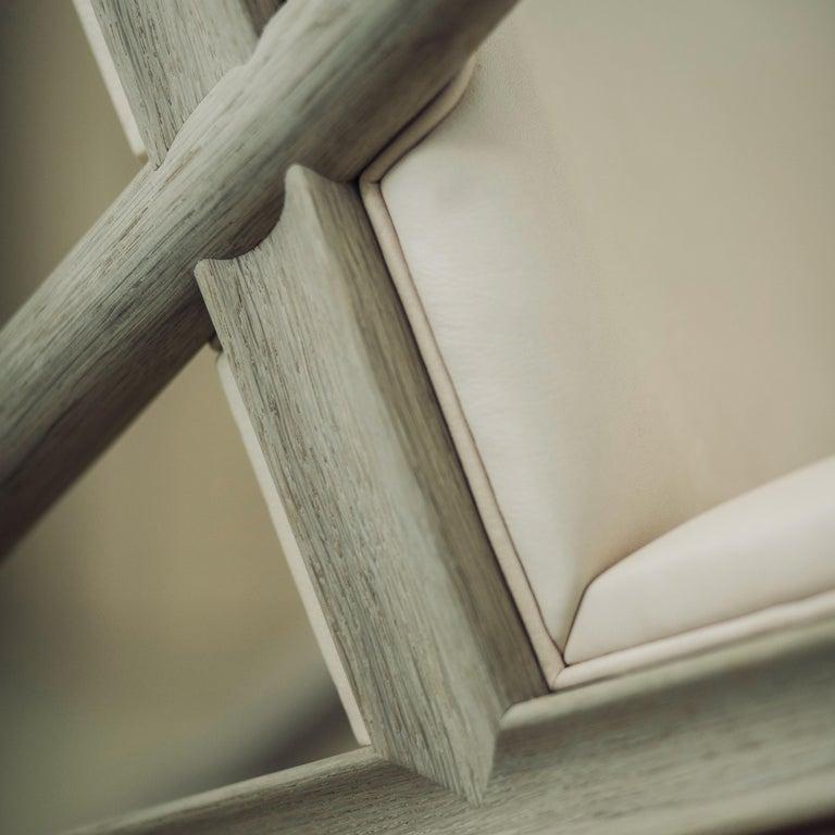 Finn Juhl Grasshopper Armchair, Wood and Leather For Sale 8