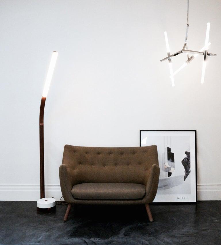 Finn Juhl Grey 46 Sofa Oak Sheepskin Sahara For Sale 6