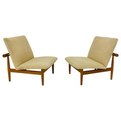 "Finn Juhl ""Japan Chairs"", Teak and Shearling"