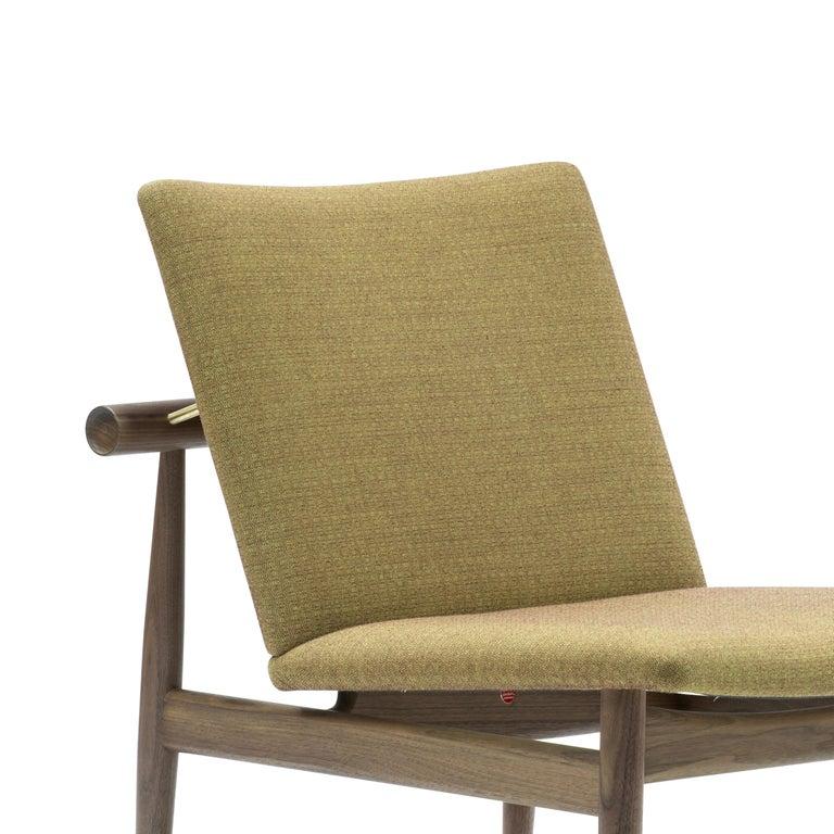 Danish Finn Juhl Japan Series Chair Walnut, Kvadrat Foss, 1953 For Sale