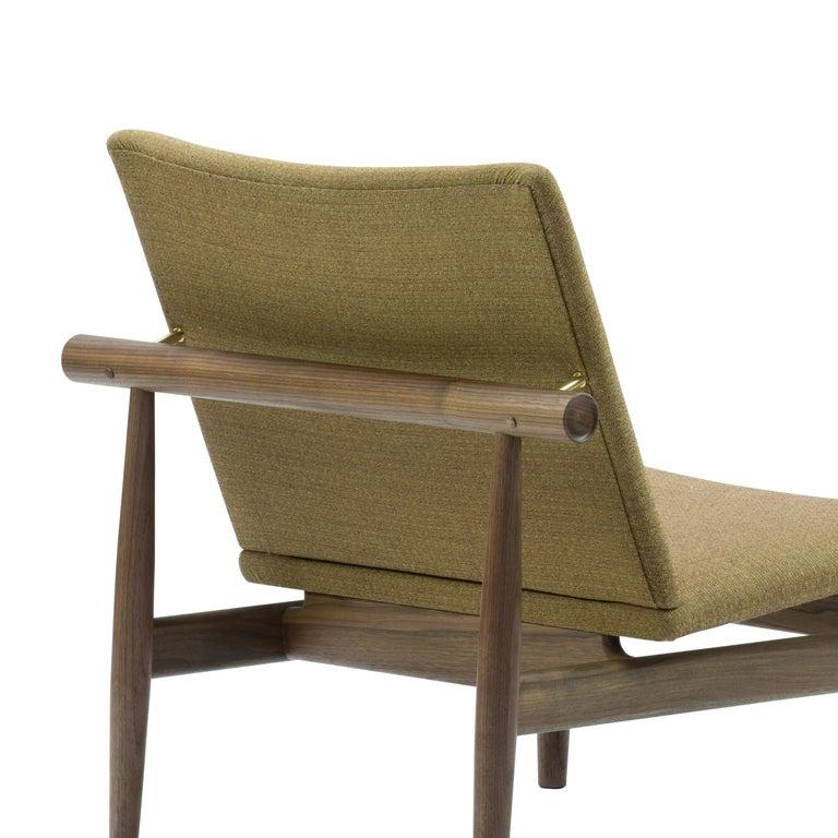 Contemporary Finn Juhl Japan Series Chair Walnut, Kvadrat Foss, 1953 For Sale