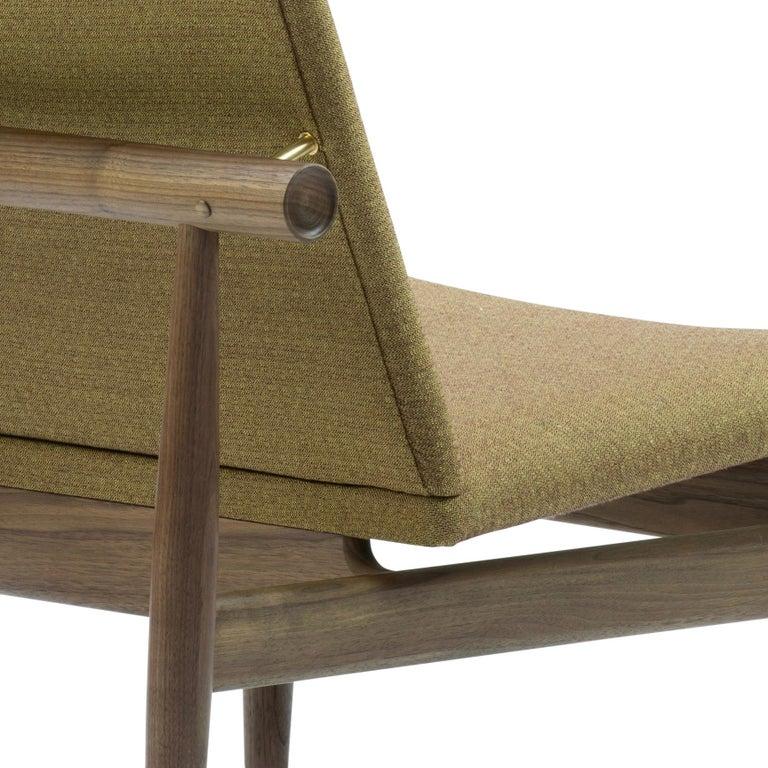 Finn Juhl Japan Series Chair Walnut, Kvadrat Foss, 1953 For Sale 1