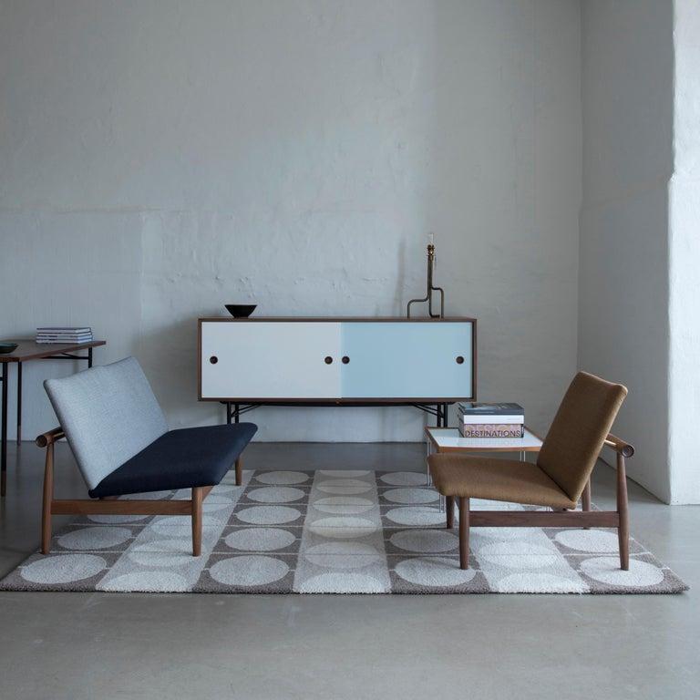 Finn Juhl Japan Series Chair Walnut, Kvadrat Foss, 1953 For Sale 2
