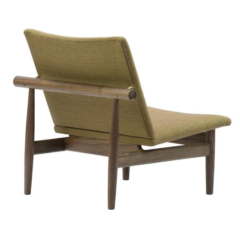 Finn Juhl Japan Series Chair Walnut, Kvadrat Foss, 1953 For Sale