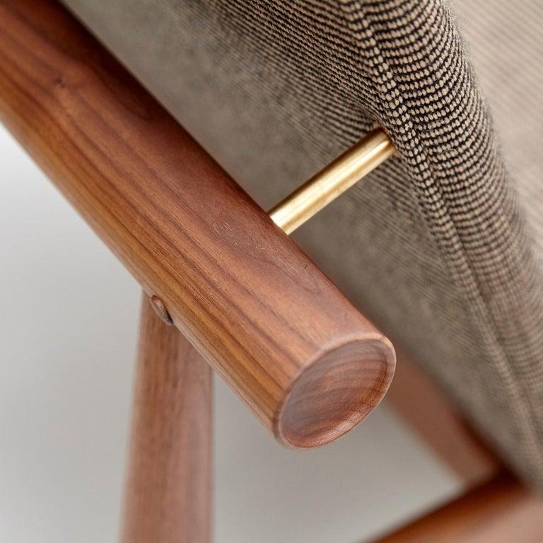 Finn Juhl Japan Series Chair Walnut Raf Simons Kvadrat For Sale 3