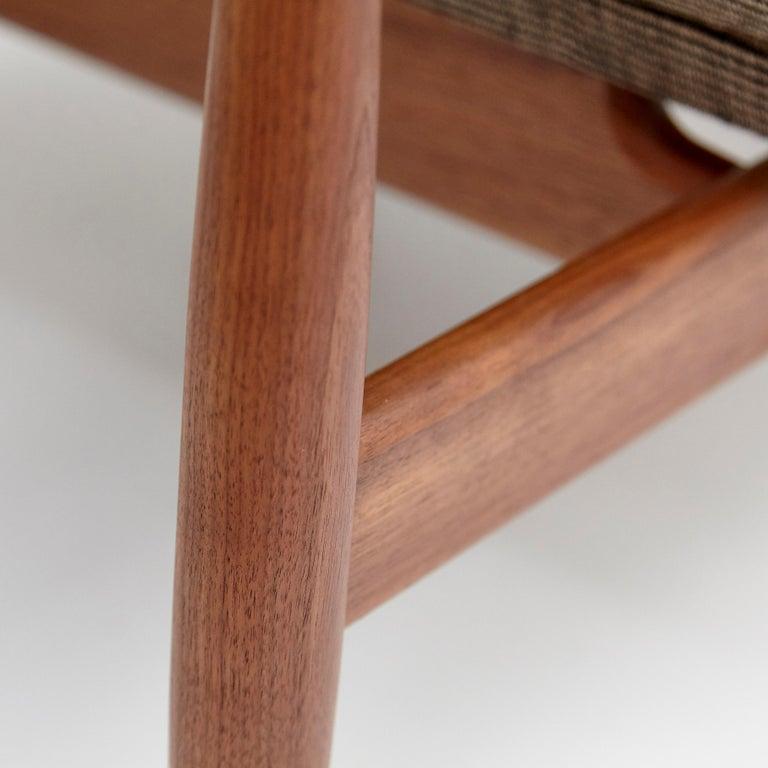 Finn Juhl Japan Series Chair Walnut Raf Simons Kvadrat For Sale 4