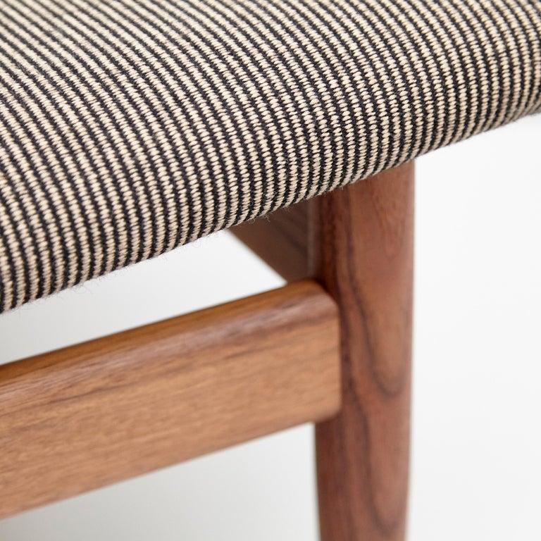 Finn Juhl Japan Series Chair Walnut Raf Simons Kvadrat For Sale 6