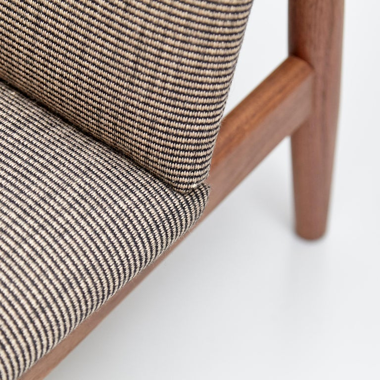 Finn Juhl Japan Series Chair Walnut Raf Simons Kvadrat For Sale 8