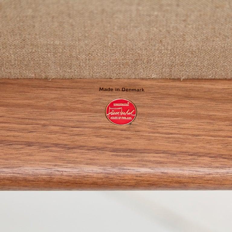 Finn Juhl Japan Series Chair Walnut Raf Simons Kvadrat For Sale 9