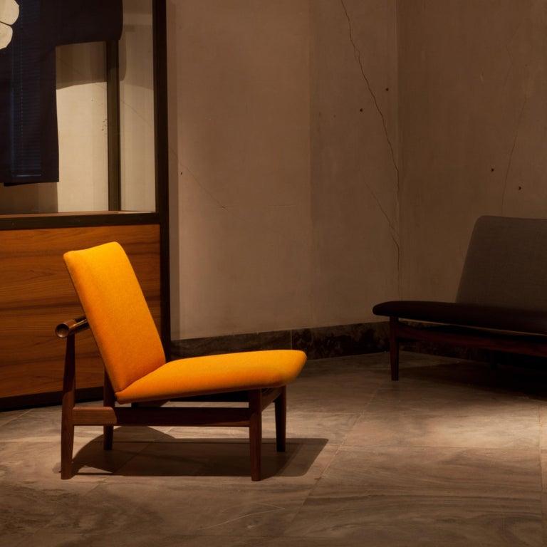 Finn Juhl Japan Series Chair Walnut Raf Simons Kvadrat For Sale 12