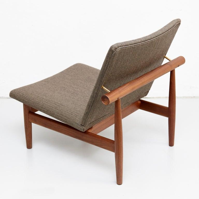 Danish Finn Juhl Japan Series Chair Walnut Raf Simons Kvadrat For Sale