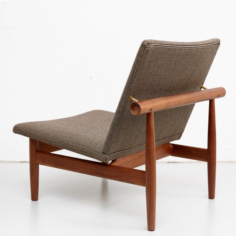 Finn Juhl Japan Series Chair Walnut Raf Simons Kvadrat For Sale 1