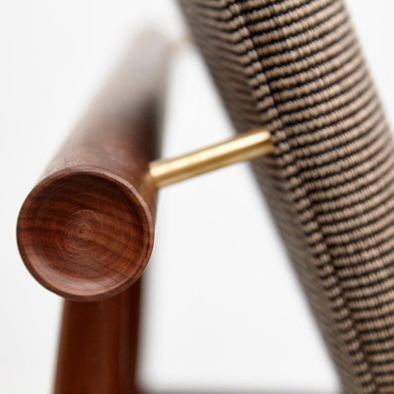 Finn Juhl Japan Series Chair Walnut Raf Simons Kvadrat For Sale 2