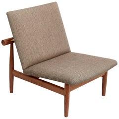 Finn Juhl Japan Series Chair, Wood and Raf Simons Kvadrat