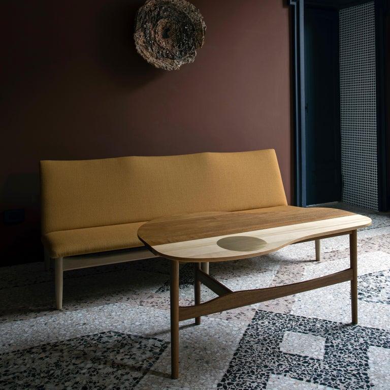 Fabric Finn Juhl Japan Series Sofa Walnut, Kvadrat Canvas, 1953 For Sale