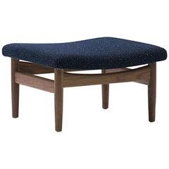 Finn Juhl Japan Series Stool, Wood and Fabric