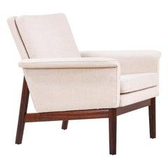 """Finn Juhl """"Jupiter"""" Rosewood Lounge Chair for France & Søn"""