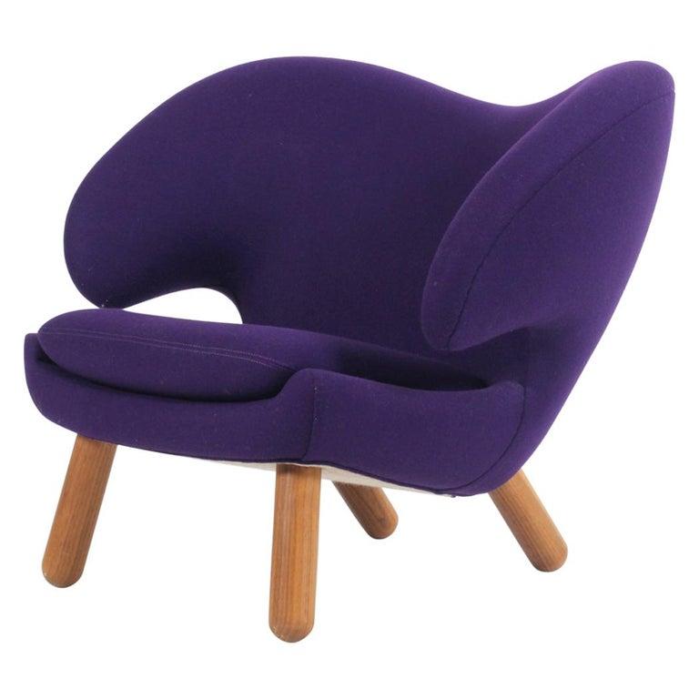 Finn Juhl Lounge Chair Model Pelican Onecollection Vintage