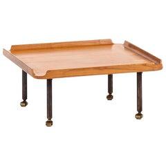 Finn Juhl low table by cabinetmaker Niels Roth Andersen in Denmark