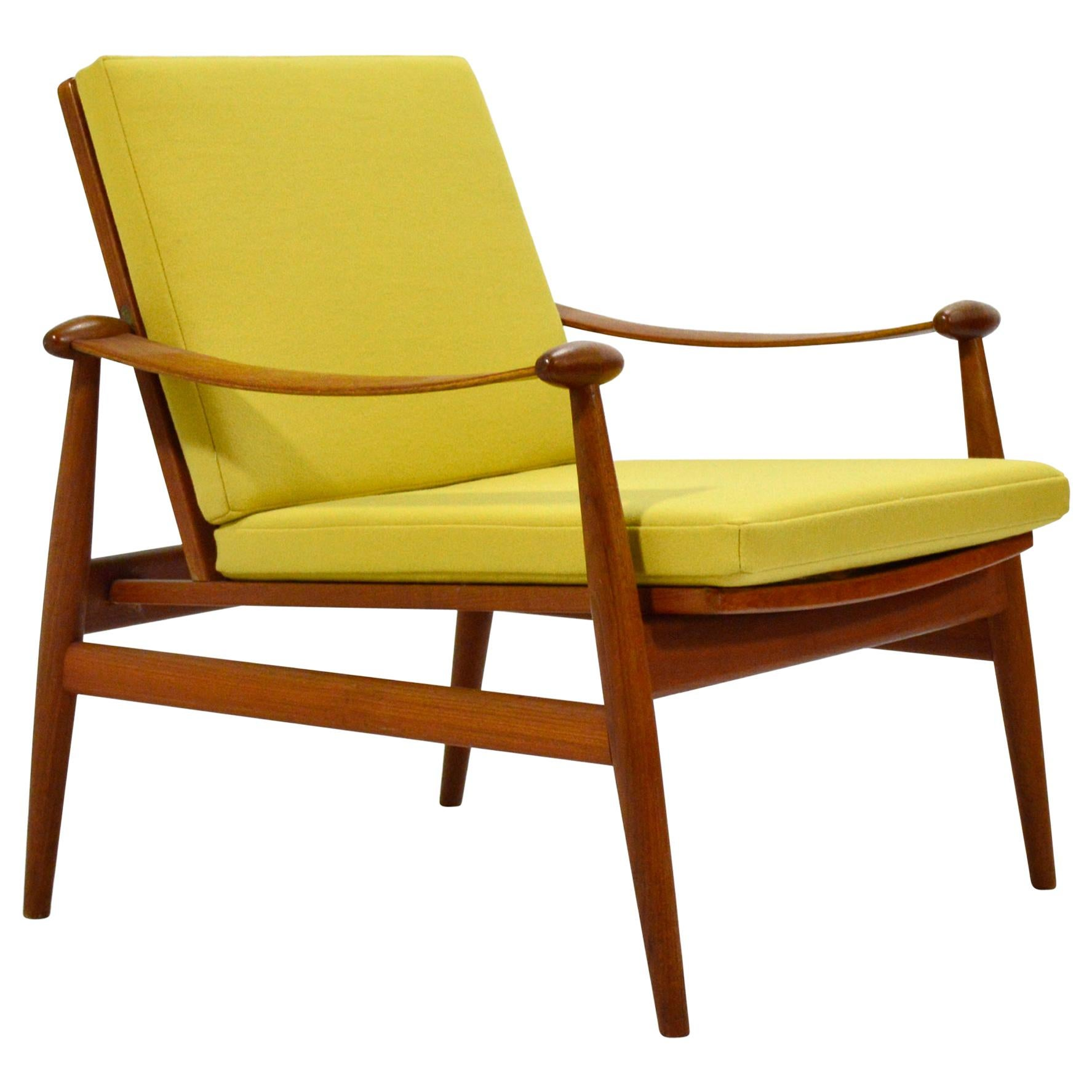 "Finn Juhl Model 133 ""Spade"" Lounge Chair by France & Daverkosen"