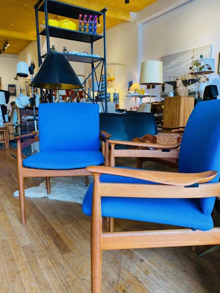 Finn Juhl Model 192 Set of Midcentury Teak Chairs '1960s' For Sale 3