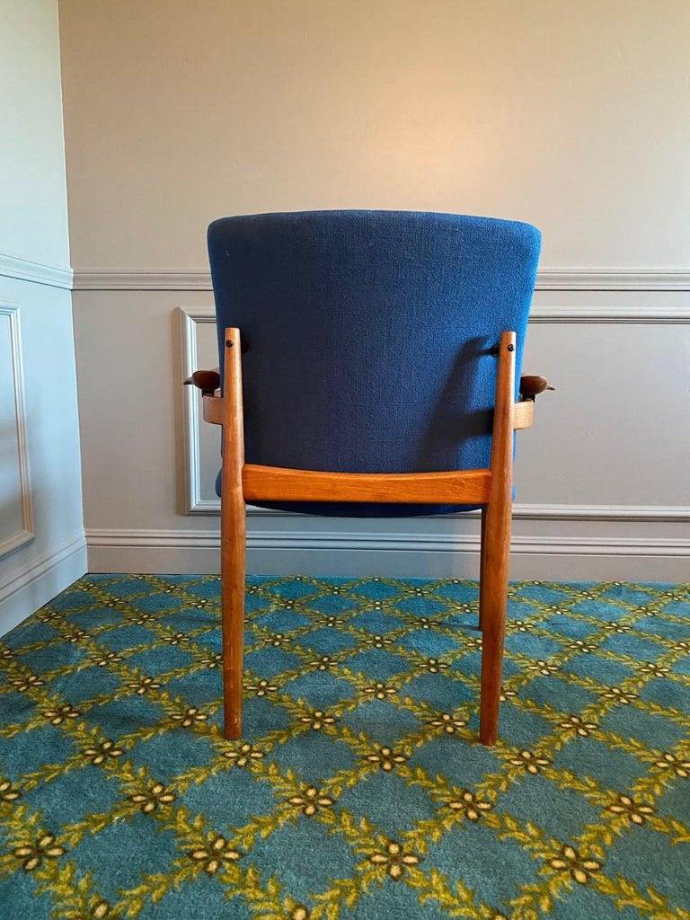 Danish Finn Juhl Model 192 Set of Midcentury Teak Chairs '1960s' For Sale