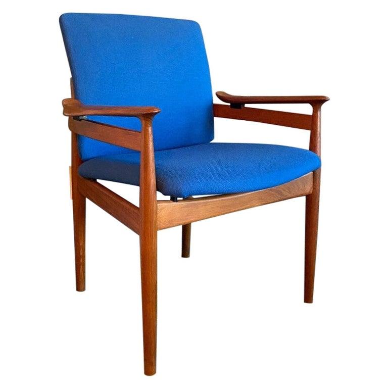 Finn Juhl Model 192 Set of Midcentury Teak Chairs '1960s' For Sale