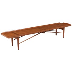 Finn Juhl Model 406 Coffee Table / Bench for Baker Furniture