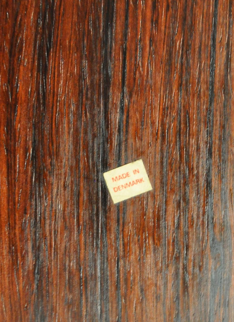 Finn Juhl Modular Rosewood Wall Unit for France & Søn, 1966 For Sale 5