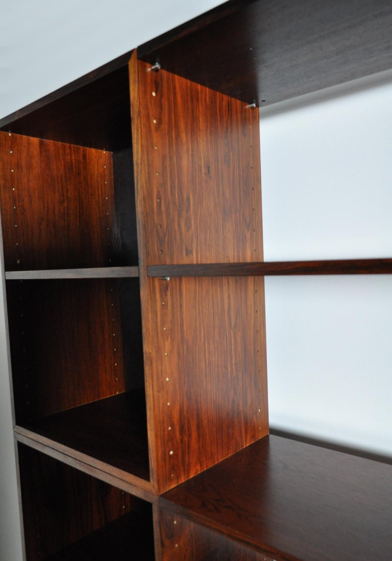 Finn Juhl Modular Rosewood Wall Unit for France & Søn, 1966 For Sale 2