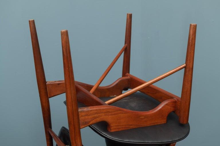 Finn Juhl NV-51 Dining Chairs for Baker For Sale 3