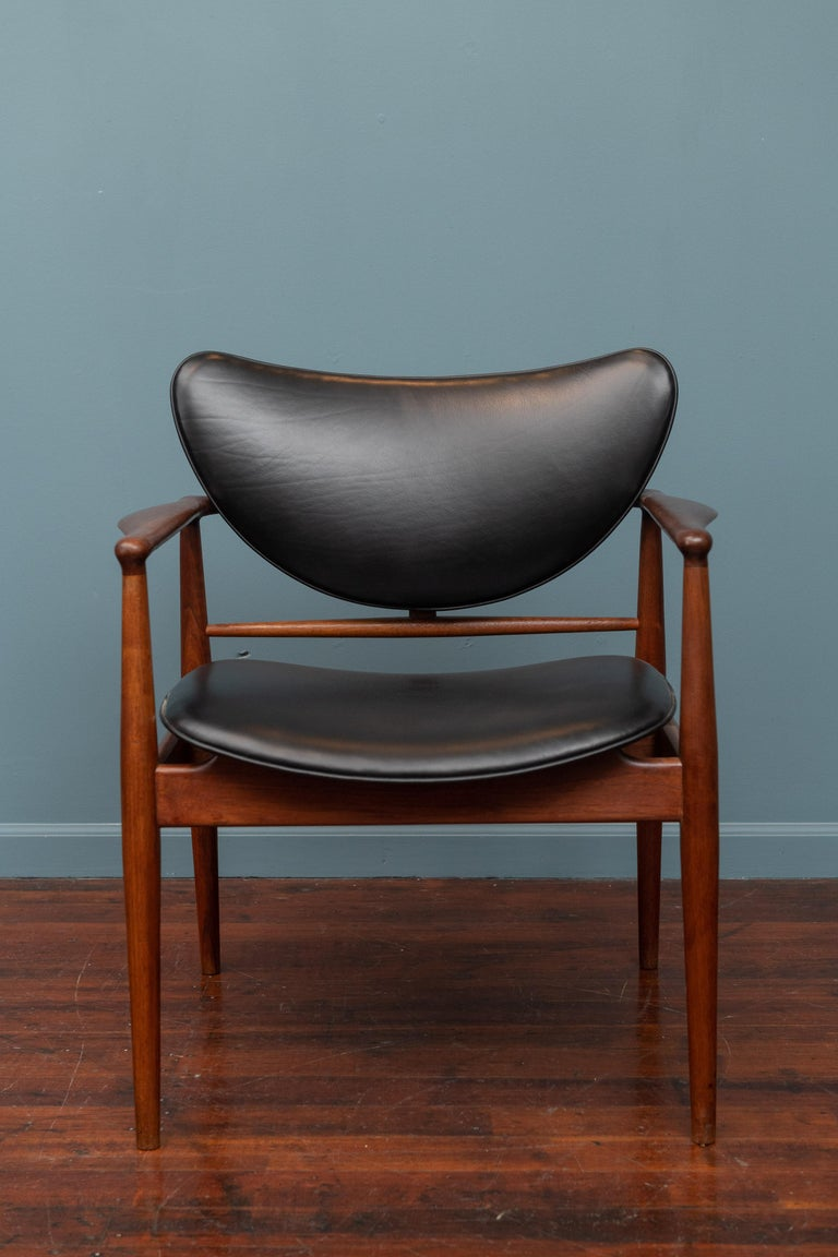 Danish Finn Juhl NV-51 Dining Chairs for Baker For Sale