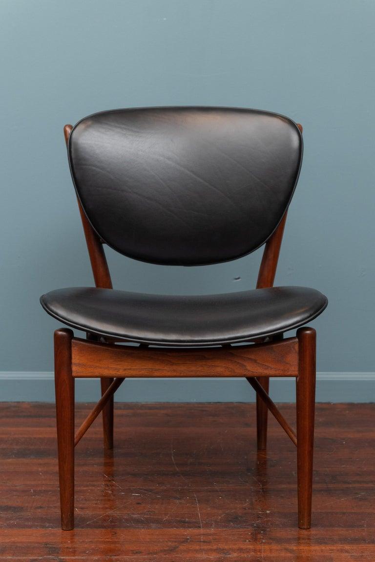 Finn Juhl NV-51 Dining Chairs for Baker For Sale 2
