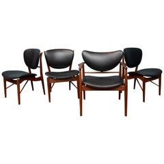 Finn Juhl NV-51 Dining Chairs for Baker