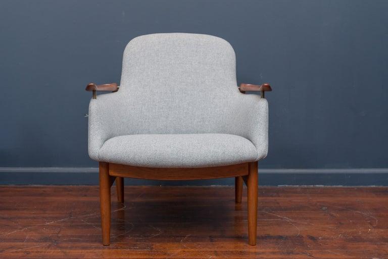 Finn Juhl NV53 Lounge Chairs for Niels Vodder For Sale 1